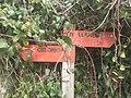 Sign on GR204 Celorio.JPG