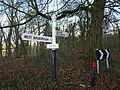 Signpost, Park End - geograph.org.uk - 1140340.jpg