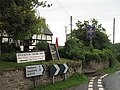 Signs outside Stockton Cross Inn - geograph.org.uk - 1424485.jpg