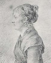 Caspar David Friedrich: Porträt der Schwester Dorothea Sponholz, um 1798 (Quelle: Wikimedia)