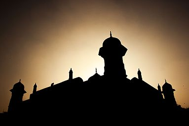 Silhouette of lalbag mosque.jpg