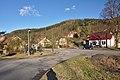 Silnice I-43 procházející středem obce, Zboněk, Letovice, okres Blansko.jpg