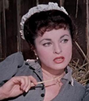 Silvana Pampanini - Silvana Pampanini in The Cheerful Squadron, in 1954.