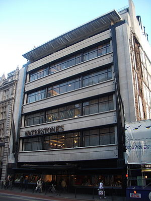 Simpsons of Piccadilly - Simpsons of Piccadilly, now the flagship store for Waterstones booksellers.