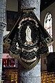 Sint-Denijs (Zwevegem), banner in St Dionysius and St Genesius church J1.jpg