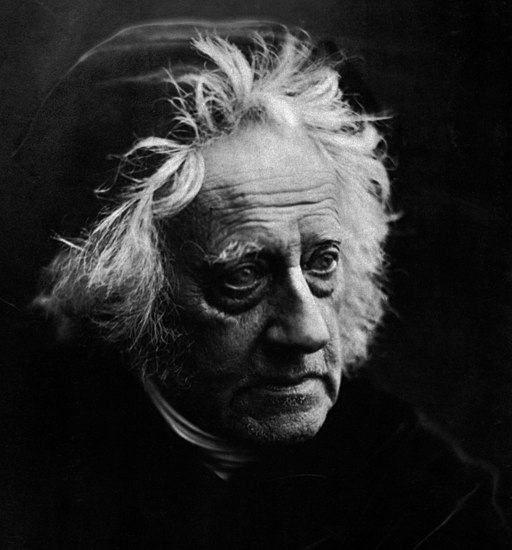 Sir John Herschel with Cap by Julia Margaret Cameron (detail)