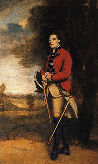 Seymour Fleming - The counterpart painting of her husband Sir Richard Worsley, 7th Baronet