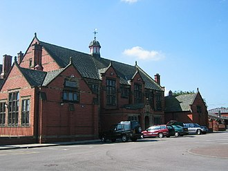 Sir John Deane's College - Main college building as of 2009, before the extension programme