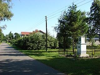 Skaszyn Village in Kuyavian-Pomeranian, Poland