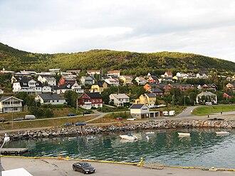Skjervøy - Image: Skervoytown