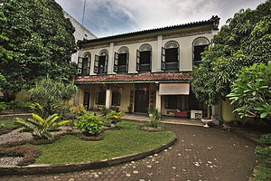 Skewed Front View, Tjong A Fie Mansion, Medan