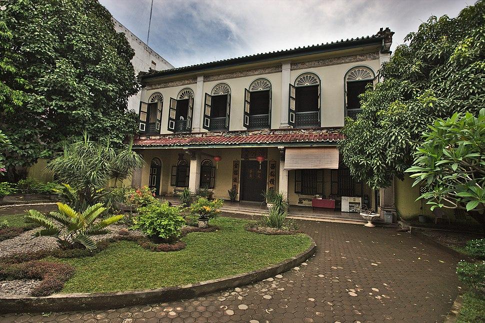Skewed Front View, Tjong A Fie Mansion, Medan