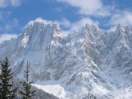 Il monte Škrlatica.