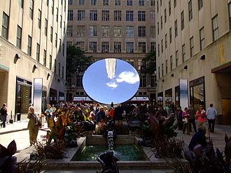 Sky Mirror - Sky Mirror, New York, as seen from Rockefeller Center