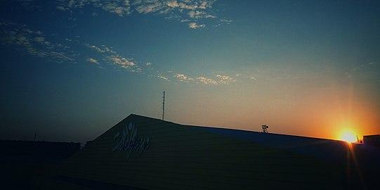 Sky and sunset of Pokhara.jpg