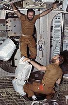 Skylab 4 trash