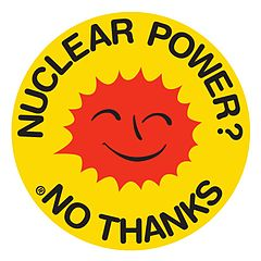 The Nuclear Power? No Thanks symbol