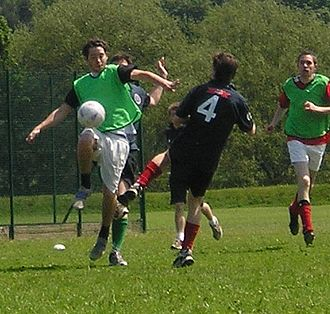 Tackle (football move) - A tackle in Association football