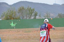 Soldiers shoot double trap at Rio Olympic Games (28621766700).jpg