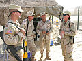 Soldiers talk with Vermont Adjutant General Martha Rainville DVIDS8387.jpg