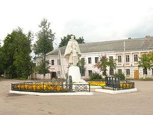 Soltsy - A World War II memorial in Soltsy