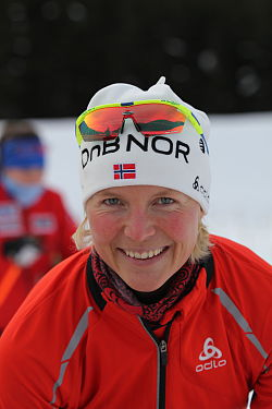 Solveig Rogstad in Obertilliach 2010