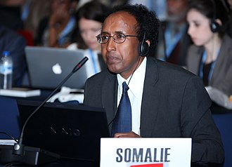 Communications in Somalia - Minister of Post and Telecommunications Mohamud Ibrihim Adan at the 2012 World Conference on International Telecommunications (WCIT) in Dubai.
