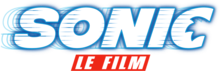 Description de l'image Sonic, le film Logo.png.
