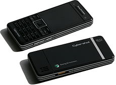 Sony Ericsson C902 (Swift Black), front and back.jpg
