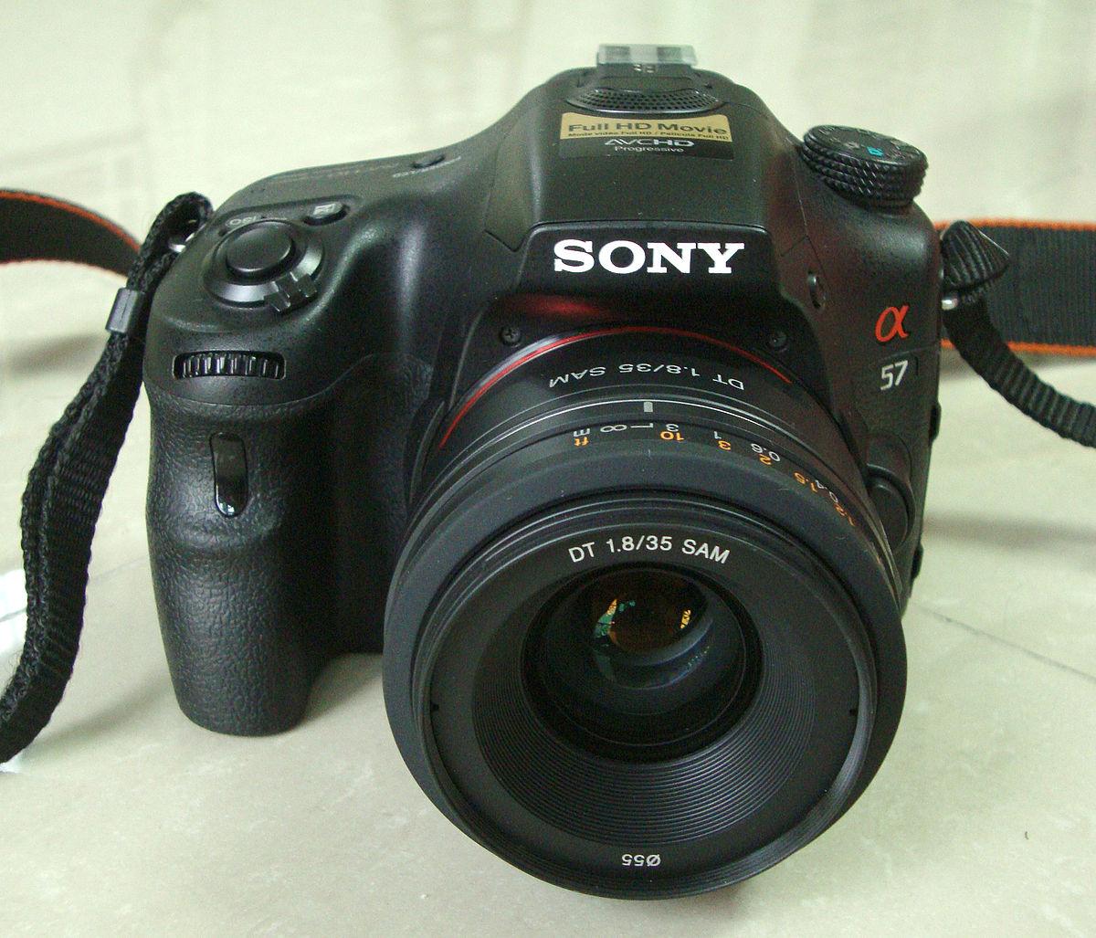 Sony Alpha 57 - Wikipedia