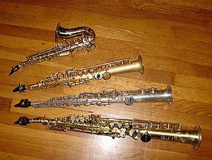 Soprano saxophone - Image: Sopranino Sax 2