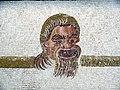 Sousse mosaic theatre masks detail 01.JPG