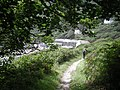 South West Coast path entering Lamorna Cove - geograph.org.uk - 912854.jpg
