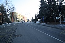 South view of Václavské náměstí in Třebíč, Třebíč District.jpg