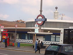 Southgate tube station view1.JPG