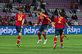 Spain - Chile - 10-09-2013 - Geneva - Javi Garcia, Sergio Ramos and Raul Albiol.jpg