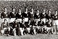 Spanish national football team before the match against Switzerland in Valencia, 28.12.1941.jpg