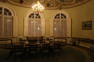 Spaso House - The Oval Dining Room of Spaso House