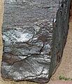 Specularite (high-grade iron ore) (Soudan Iron-Formation, Neoarchean, ~2.69 Ga; Soudan Mine, Soudan, Minnesota, USA) 1 (18844379538).jpg