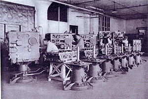 Sperry Corporation - M2 gun director 1932 in production