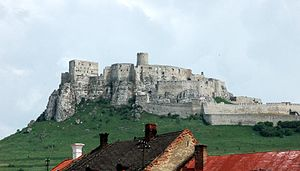 Conditional noble - Ruins of Szepes Castle (Spišský hrad, Slovakia)