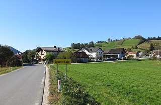 Spodnje Laže Place in Styria, Slovenia