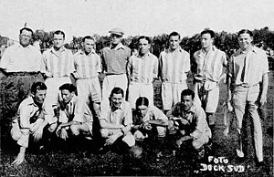 Sportivo Dock Sud - The team that won the Primera División title in 1933.