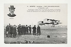 Sports Aviation - Issy-les-Moulineaux (7 septembre 1908)- Delagrange a battu tous les records du monde ... (7843389702).jpg