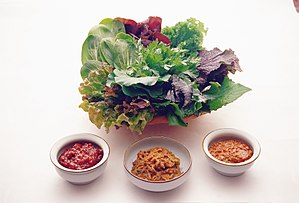 Ssam vegetables and ssamjang.jpg