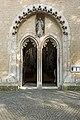 St. Blasius Regensburg Albertus-Magnus-Platz 1 D-3-62-000-24 12 Westportal offen.jpg