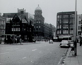St Enoch Square - St. Enoch Square in 1966