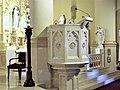 St. Francis Xavier Cathedral ambo - Alexandria, Louisiana.JPG