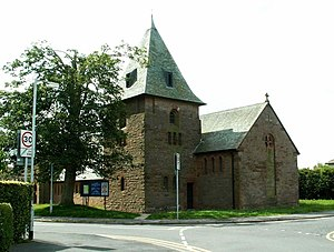 HM Factory, Gretna - St. John's Episcopal Church, Eastriggs was built in 1917.
