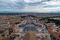 St. Peter's Square from the top of Michelangelo's Dome.jpg